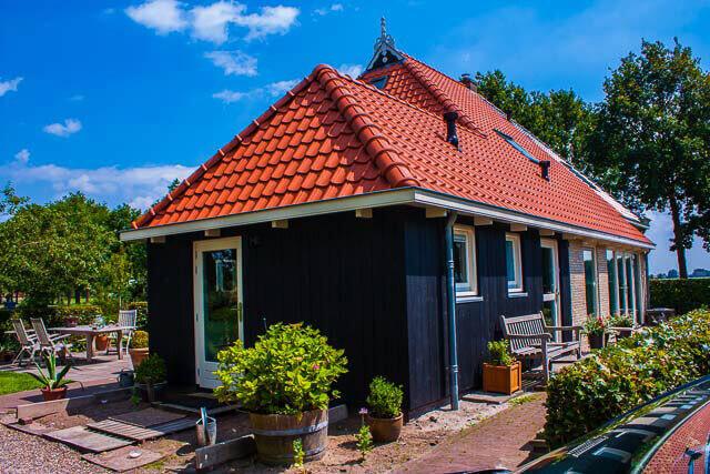 Verbouw / dakrenovatie woonboerderij in Sintjohannesga