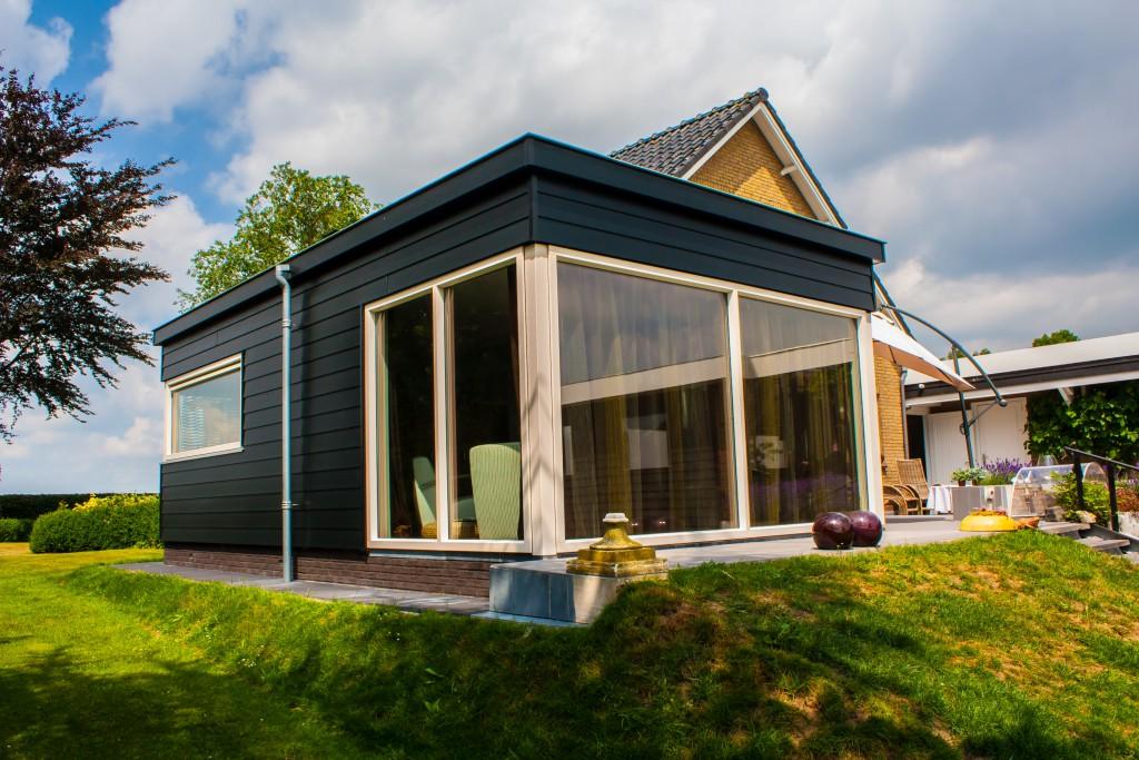 Aanbouw woonkeuken in Ouwster-Nijega